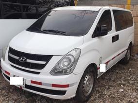 Hyundai Starex H1 Modelo 2013 Blanca 5 Puertas