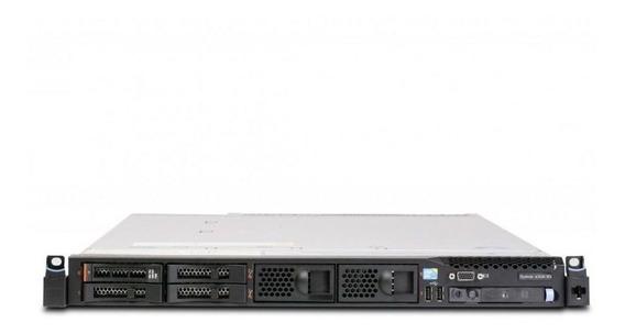 Servidor Ibm System X3550 M3 7944ac1 1x Intel Xeon E5620 Quadcore 2.4ghz 2gb Ddr3 Ram 4x Discos Rígidos 1tb + Frete Top!