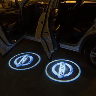 Luz Led Logo Para Puertas De Auto 2pzas