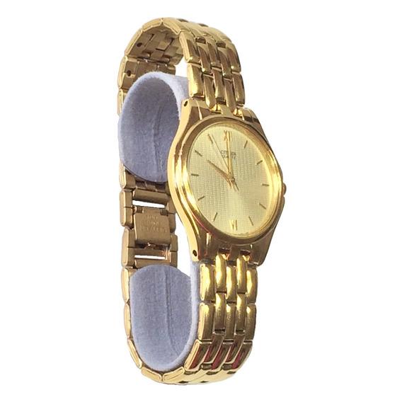 Reloj Hombre Dorado Nuevo Elegante