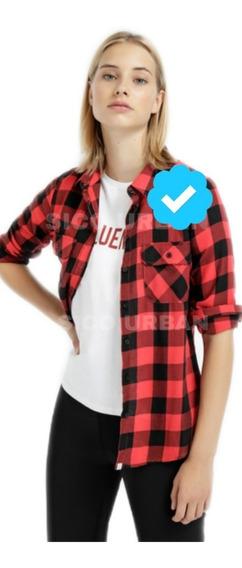 Camisas Escocesas Entalladas Damas X5
