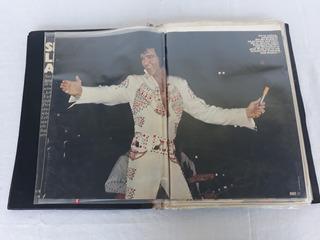 Elvis Presley Álbum Recortes Revistas Jornais Memorabilia