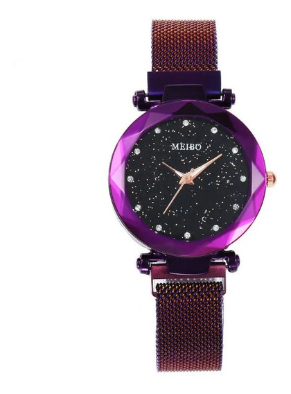 Relógio Ladies Magnetic Moda Luxo Quartzo