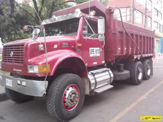 International 4900 Volqueta