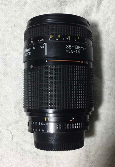 Nikon 35-135mm 3.5-4.5 Af (usada)