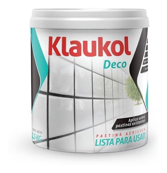 Klaukol Pastina Acrilica X 1.5 Kg Varios Colores