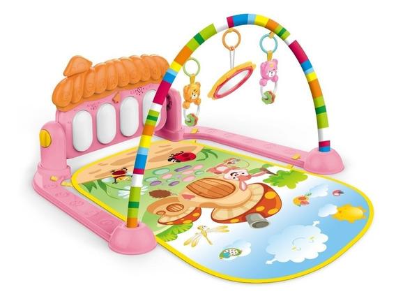 Tapete De Atividades Piano Musical Vila Girl - Color Baby
