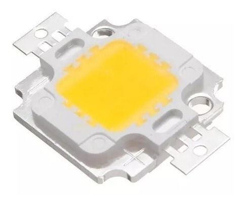 Kit 40 Chip Super Power Led 10w 9v-12v Branco