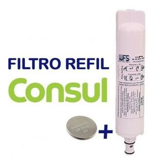 Refil Filtro Purificador De Água Compatível Consul Facilite