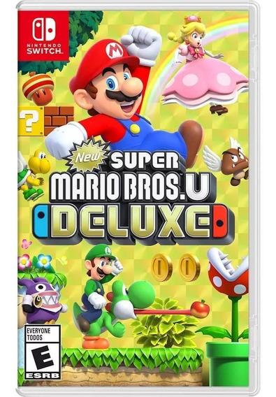 ..:: New Super Mario Bros U Deluxe ::.. Para Switch Gamecent