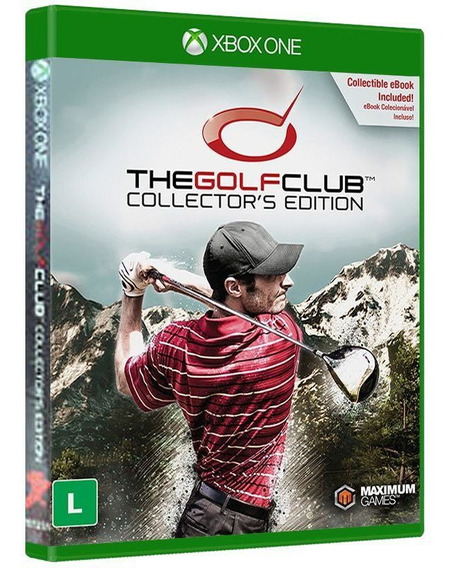 The Golf Club Collectors Edition Xbox One - Jogo Lacrado