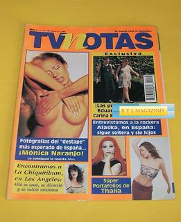 Thalia Monica Naranjo Alaska Y Dinarama Fangoria Tv Notas