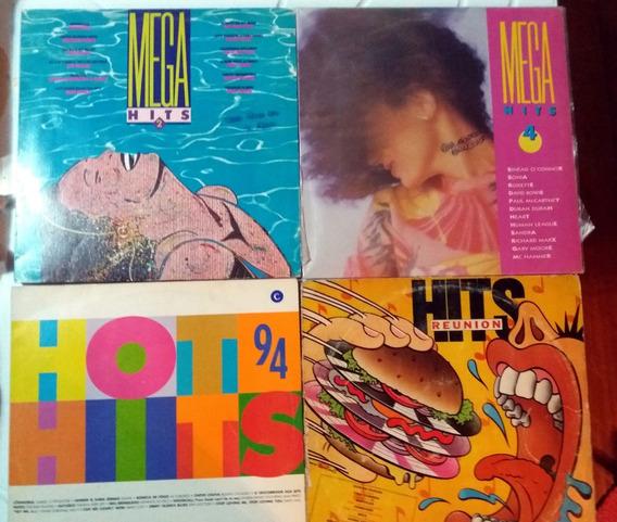 Vinil Mega Hits 2 E 4 / Hits Reunion / Hot Hits 94 Internaci