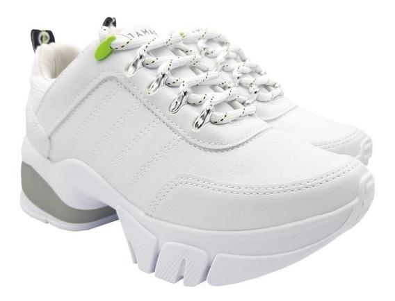 Tênis Feminino Ramarim Chunky Sneaker Casual Flatform