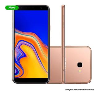 Smartphone Samsung Galaxy J4+ 32gb - Cobre - Dual Chip - Android - Tela Infinita 6 - Quad-core 1.4ghz 4g - Câmera 13mp
