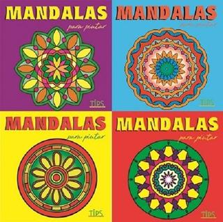 Combo X4 Libros De Mini Mandalas