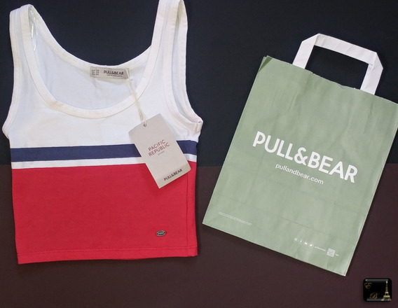 Top Pull And Bear Dama Original Oferta