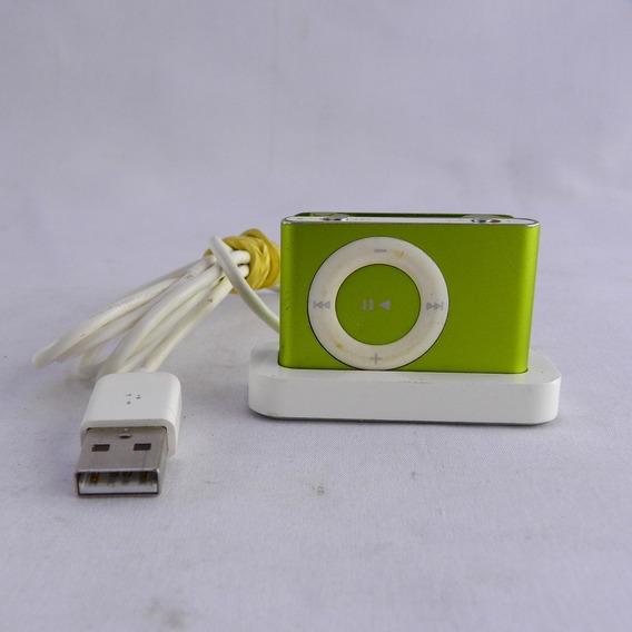 Apple iPod 1 Gb Segunda Geração C/ Base Verde Limão - Usado