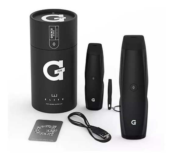 G Pen Elite Vaporizador Herbal + Canalas Papel + 1 Blunt Pro