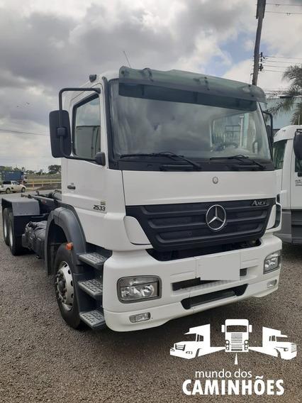 Mb Axor 2533 Truck Com Rollon Off Com Engate Para Julieta