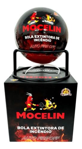 Imagem 1 de 6 de Bola Extintor De Incêndio Automático 1,3kg Mocelin Fireball