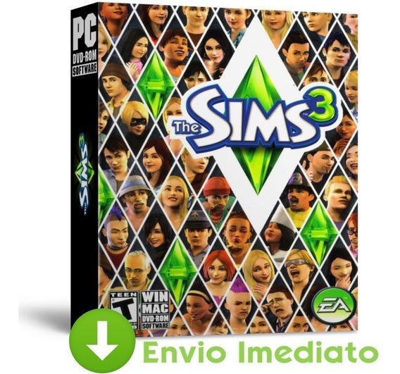 The Sims 3 - Pacote Completo - Todas Expansões - Português Brasil - Envio Imediato 2019