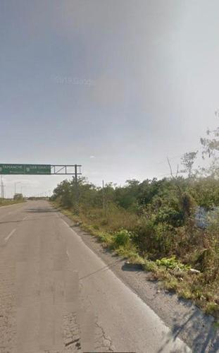 1.08 Hectareas Sobre Carretera Merida-progreso Lado Poniente $550 M²