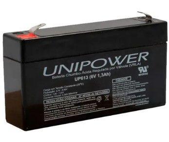 Bateria Unipower 6v 1,3ah F187 (up613) Rt