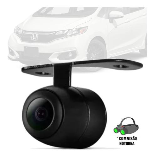 Imagem 1 de 4 de Camera De Ré (2x1) Borboleta Visão Noturna Honda Fit ...
