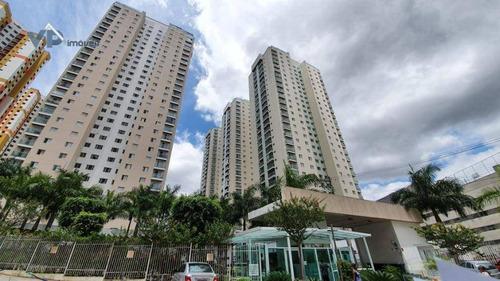 Apartamento Com 3 Dormitórios À Venda, 110 M² Por R$ 430.000 - Jardim Maria Rosa - Taboão Da Serra/sp - Ap0814
