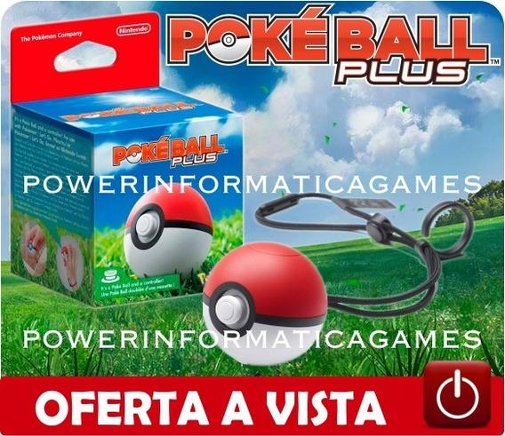 Pokeball Plus Pokemon Nintendo Switch Original Lacrado Novo