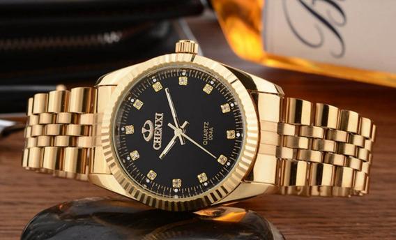Relógio Feminino Chenxi Cx-004a Pulseira De Aço À Prova D