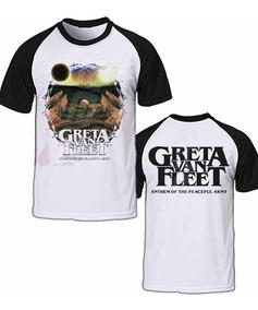 Camiseta Greta Van Fleet Anthem Of The Peaceful Army