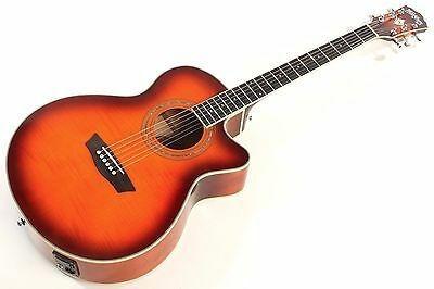 Washburn Ea15 I Ice Tea - Guitarra Electroacusticas