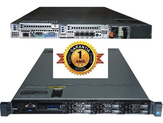 Servidor Dell R610 Xeon Sixcore 8gb Ram Ssd Sas Sata Ddr3