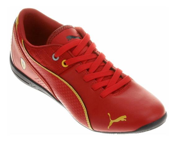 Tênis Puma Ferrari Sf Drift Cat 6 Vermelho
