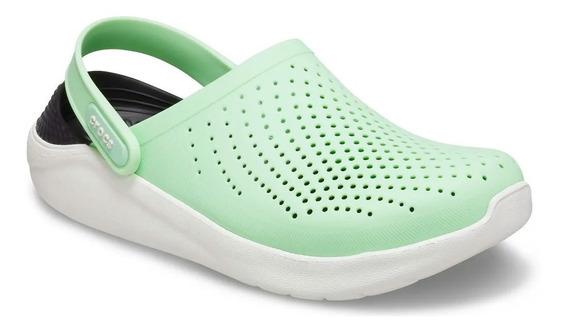 Crocs Literide Clog Neo Mint Almost White Original