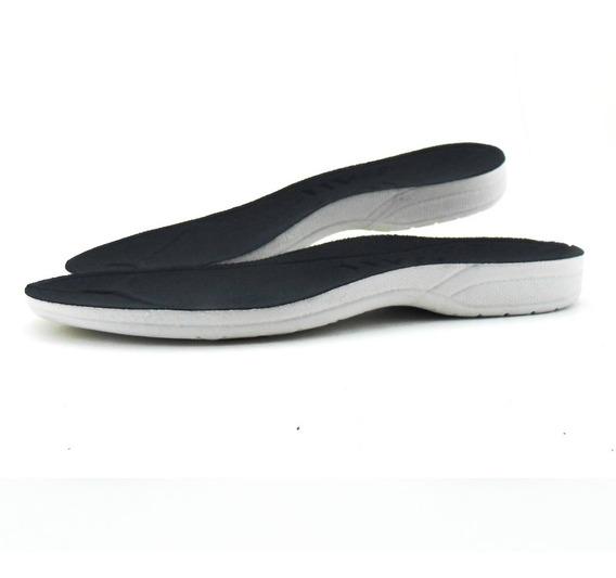 Palmilha Par Gel Anatômica Comfort Tênis Sapato Sapatênis