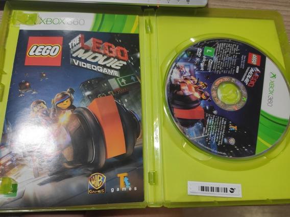 Jogo Xbox 360 Lego Movie Midia Física Original