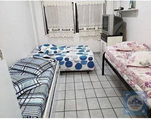 Kitnet Com 1 Dormitório À Venda, 32 M² Por R$ 149.000 - Centro - São Vicente/sp - Kn0523