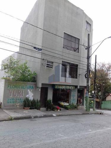 Prédio À Venda, 125 M² De Terreno Por R$ 1.000.000 - Vila Bocaina - Mauá/sp - Pr0016