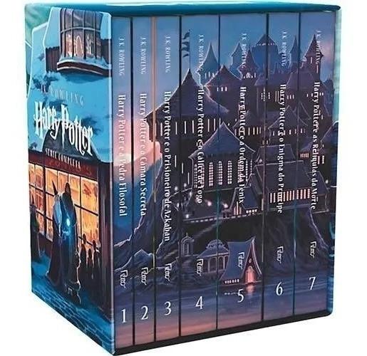 Harry Potter Box Livros Coleção Completa 7 Volumes Luxo