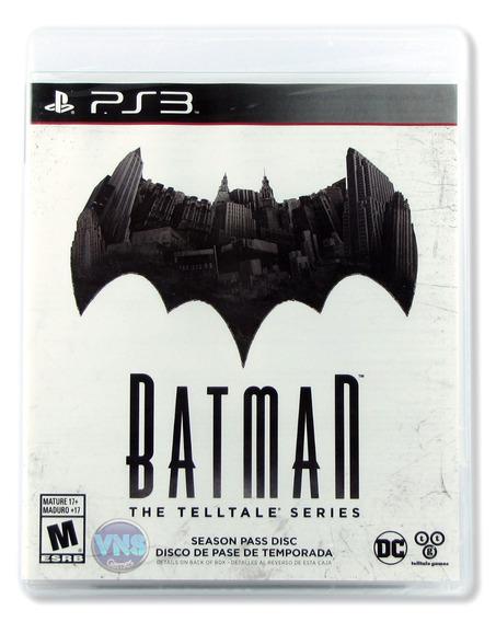 Batman: A Telltale Game Series - Ps3 - Americano - Lacrado