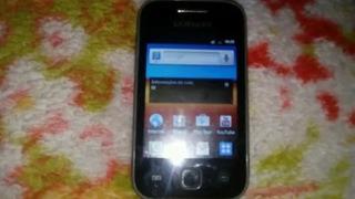 Samsung Galaxy Y Gt S5360 Usado Con Whatsapp 20 Manzanas.