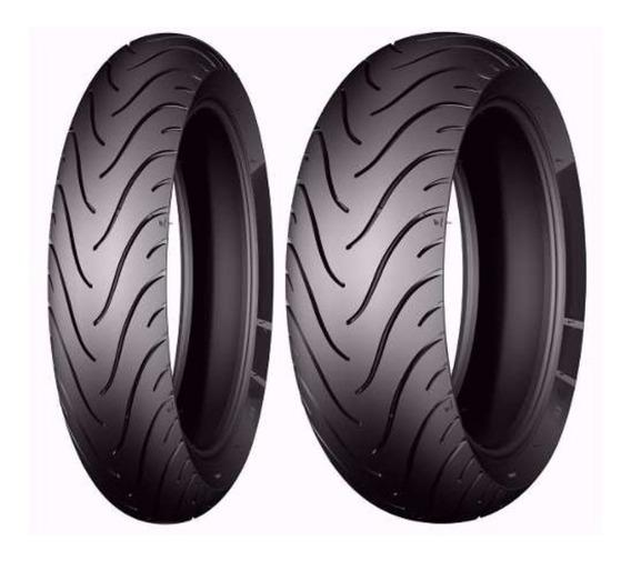 Par Pneu Cb 500 X 120/70-17+160/60-17 Michelin Pilot Street