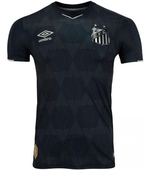 Camisa Oficial Santos Iii Umbro