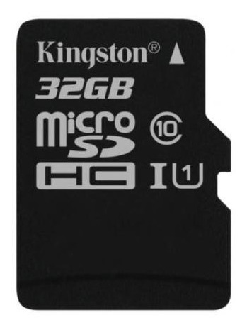 Sd Card 32gb Classe 10 - Kingston