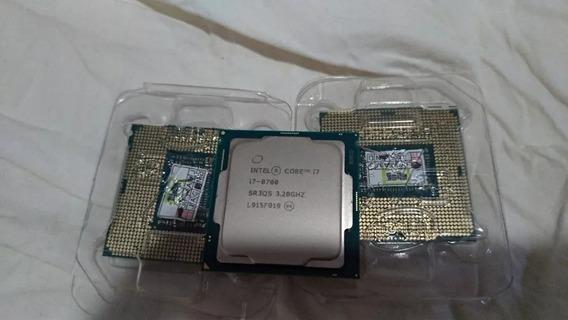 Processador Intel I7 8700 1151 Com Garantia + Cooler