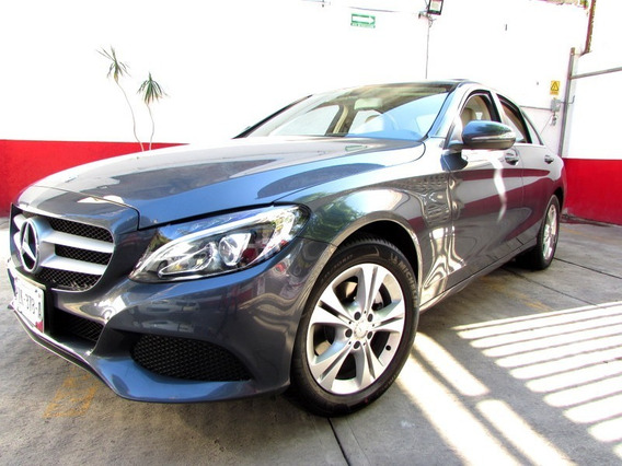 Mercedes Benz//c200 Exclusive//piel Qc //seminuevo// 2016