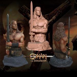 Archivos Stl Para Impresión 3d - Conan